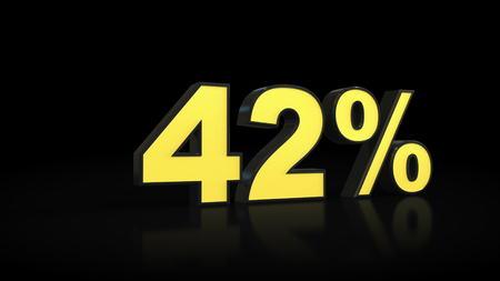 42 % 42 % 3D 렌더링