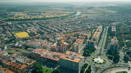 Aerial view of Cordoba suburbs, Spain Stockfoto