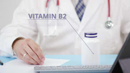 Doctor talks about a generic VITAMIN B2 in his workplace