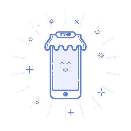 bounty: ilustración de teléfono móvil icono
