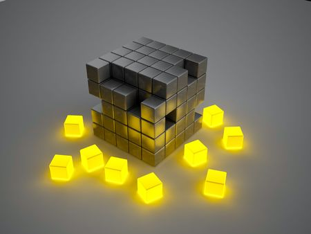broken strategy: Glowing boxes