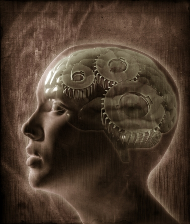Human intelligence concept