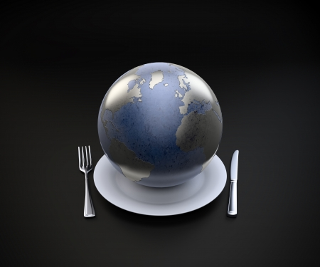 capitalism: World on a plate