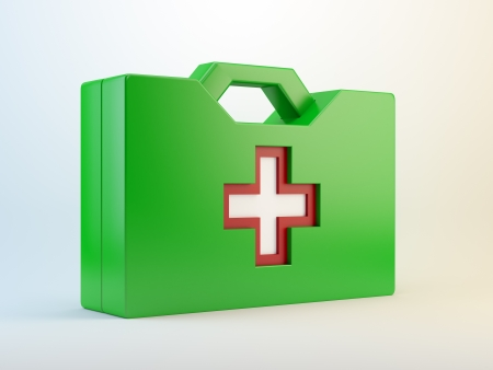 Green aid kit - health care  photo