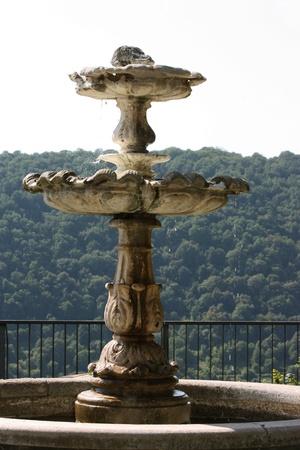 fountainhead: garden fountain