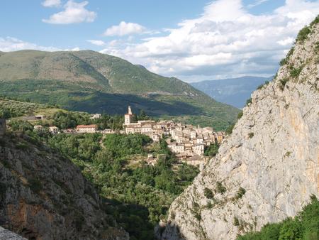 Abruzzo, Italy - June 12, 2012  Anversa degli Abruzzi