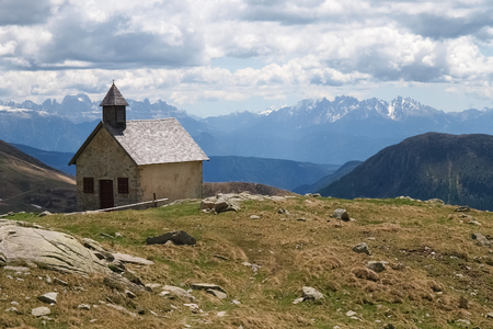 meran: Meran, Italy  South Tyrol walking into the landscape of Alps Sarentine