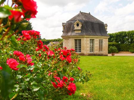 Villandry, France Along the route of the castles on the Loire River - Château et jardins de Villandry