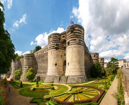 Angers, France - June 10, 2014  Château d Publikacyjne
