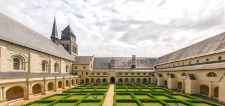 abbaye: Abbaye de Fontevraud, The church Inside the abbey Editorial