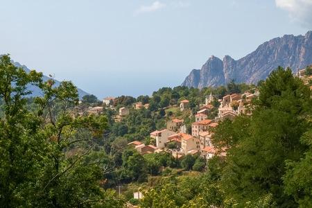 corse: Corse - Corsica, France: road to the Col of Vergi