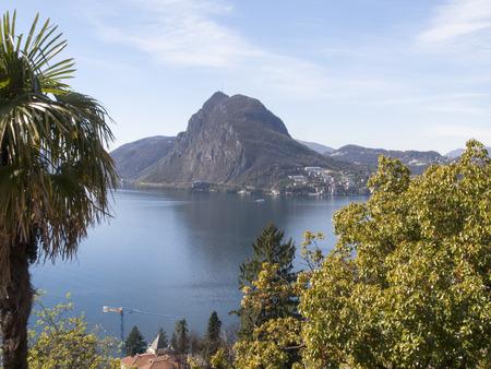 Lugano Castagnola Switzerland April 8 2015: photo