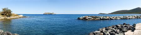 corse: Corse - Corsica, France: Image of Cap Corse, Lighthouse of isle Giraglia.
