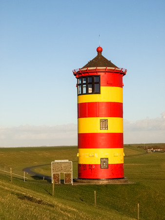 navigational light: Lighthouse located near the coast