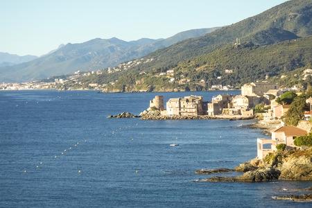 corse: Corse - Corsica, France: Image of Cap Corse, the mediterranean coast.