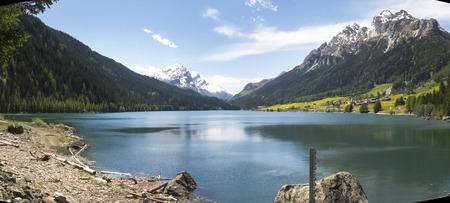 Bernardino: San Bernardino pass, Switzerland : Lake of Sufers.