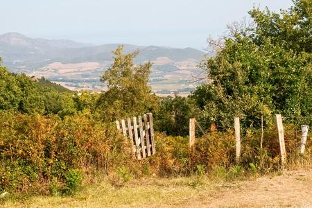 corse: Corse - Corsica, France - september 04, 2014: San Michele di Murato Stock Photo
