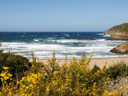 corse: Cap Corse, France: coastal landscape and beaches of Cap Corse