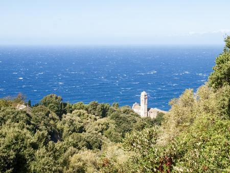 corse: Cap Corse, France: coastal landscape and forest of Cap Corse