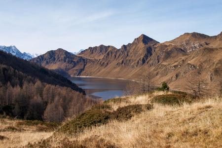 Val Piora, Switzerland: Lakes Ritom, Cadagno, Tom in the autumn.