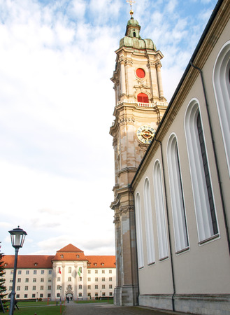 St. Gallen, Switzerland. Historic Centre of the medieval town and the St.Gallo Cathedral