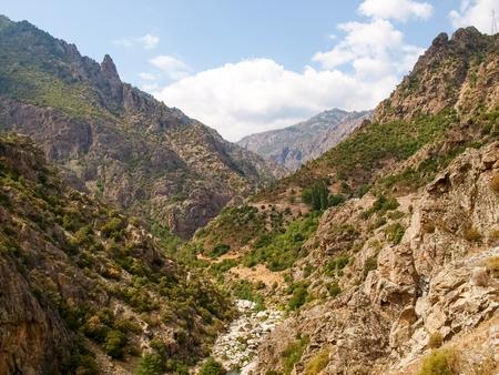 corse: Corse - Corsica, France: image of Golo River Valley Stock Photo
