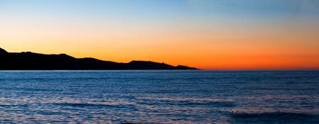 corsica: St. Florent, France: Image of St. Florent at evening light. Stock Photo