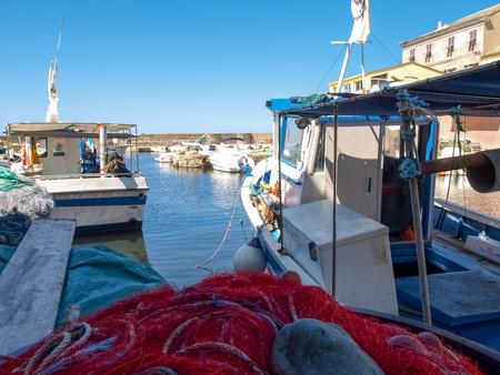 corse: Corse - Corsica, France - september 2, 2014: Image of Cap Corse, the mediterranean coast. Port of Centuri.