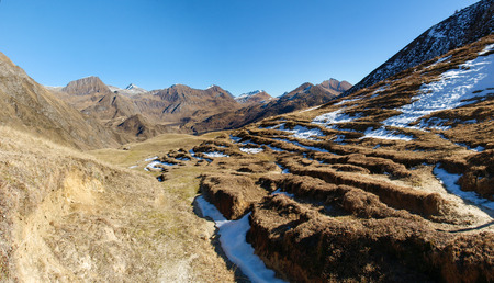 Foisc Quinto, Switzerland: Hiking in the mountains of the Lepontine Alps with views of the Leventina valley.
