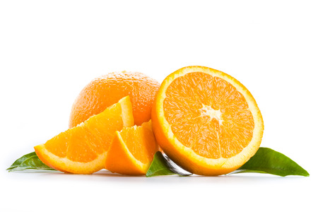 Oranges Stockfoto