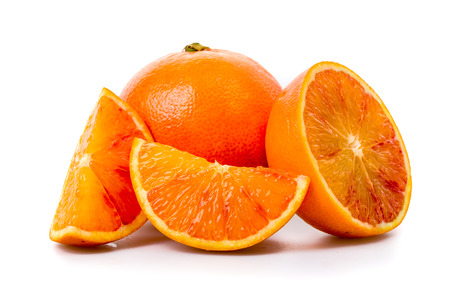 Blood Orange fresh cut Stock Photo