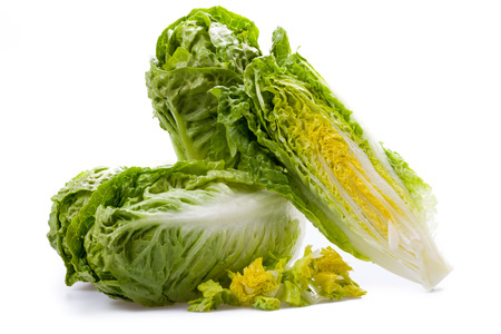 Lettuce hearts isolated on a white background