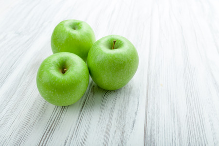 granny smith apple: Granny Smith apple on a background