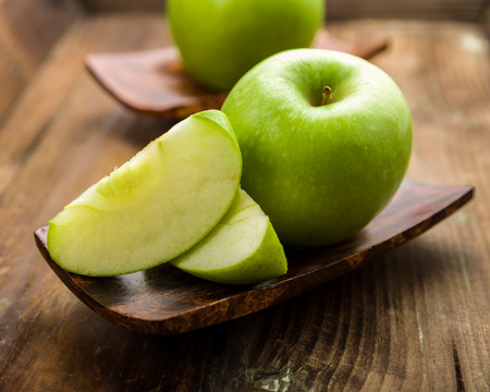 granny Smith apple on a background Stockfoto