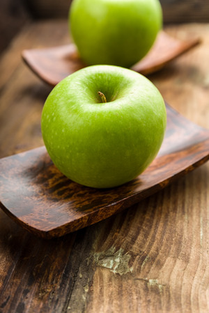 granny smith: granny Smith apple on a background Stock Photo