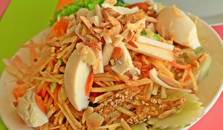 somtum: Somtum Thailand Stock Photo