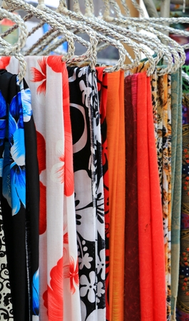 hanky: The Multiple colorful scarf or Hanky in thailand