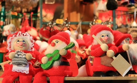 rovaniemi: The Santa Claus Doll Souvenir in  Finland Stock Photo