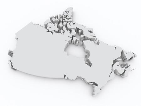 hamilton: Canada 3d map