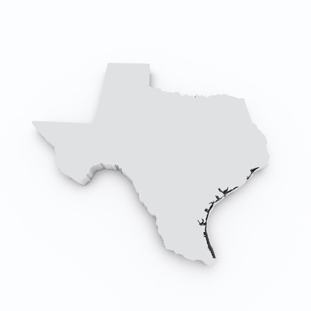 texas state: texas state map Stock Photo