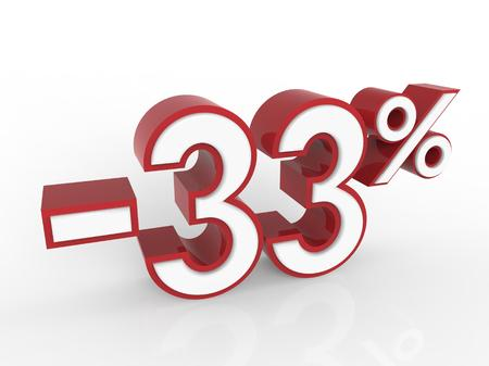 regress: discount 33 percent