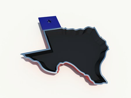 texas frying pan Stock Photo