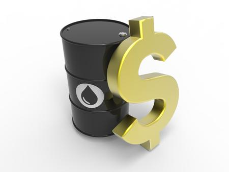 oil barrel with dollar sign