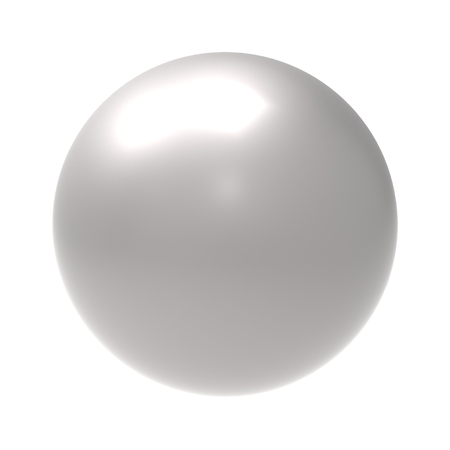 nacre: pearl Stock Photo