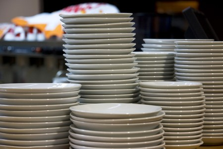 Clean plates Stock Photo - 4311350