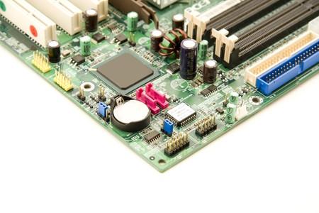 Computer mainboard photo