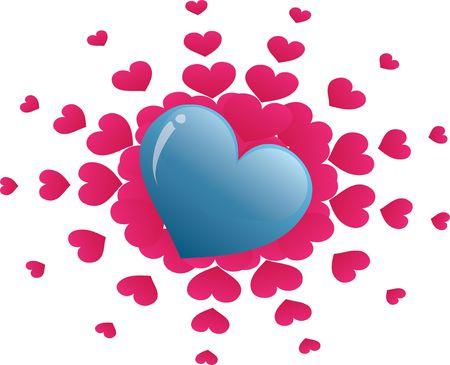 Heart Illustration Фото со стока