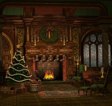 camino natale: Sera di Natale