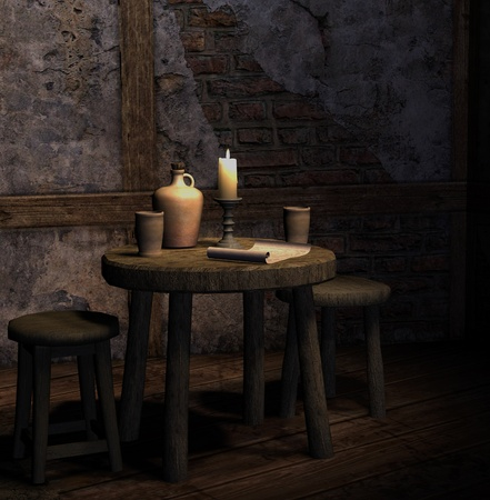 taverns: Old tavern Stock Photo