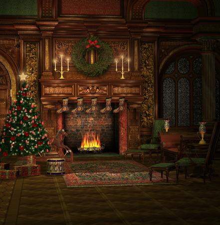 クリスマス時間図